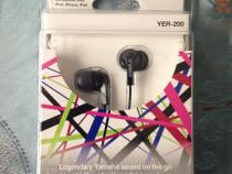 Casti in ear Yamaha YER-200 black, noi, sigilate
