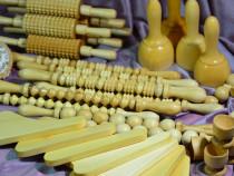 Maderoterapie / instrumente masaj reductor, anticelulitic