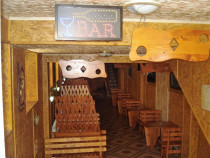 Mobilier bar din lemn de fag