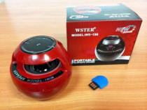Boxă touch portabilă bluetooth, mp3, radio (wster ws-136)