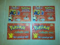 Albume/Albume/Albumuri Pokemon,4 Bucati,Originale,Stare OK