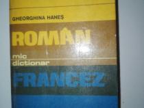 Mic dictionar roman – francez ( Autor: Gh. Hanes )