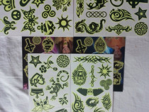Tatuaje fluorescente temporare pt.copii