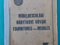 Catalog accesorii pentru mobilier/ anii 1930