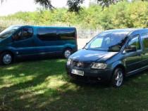 Opel Vivaro,9 Locuri & VW Caddy,7 Locuri;Efectuez Transpor