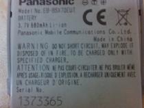 Baterie Panasonic EB-BSX70EUT 680mAh