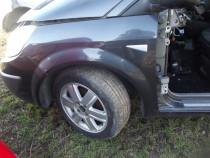 Aripa Renault scenic 2 stanga albastra dezmembrez scenic 2