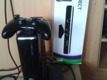 Xbox 360 slim,60 jocuri,fifa 17,gta 5,kinect,pt copii