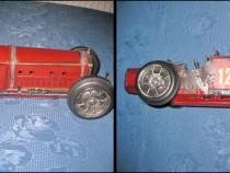 Masina veche vintage metal Bugatti manual executata stare bu