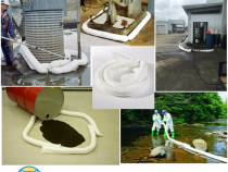 Cordoane/baraje absorbante de ulei, hidrocarburi