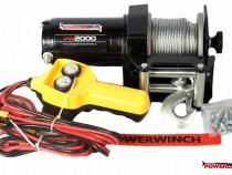 Troliu pentru atv powerwinch pw2000e-nou