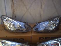 Faruri Opel Corsa D fond negru