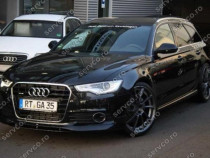 Prelungire spoiler bara fata Audi A6 4G C7 ABT AB Look S6 RS