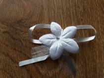 Cocarde/ flori nunta (material textil)