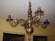 Candelabru din bronz masiv