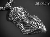 Amuleta Pandantiv Iisus Hristos Yeshua INOX - cod PND060