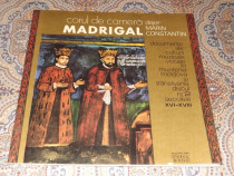 Vinil de colectie-Corul de camera Madrigal-Discul nr 2