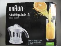 Braun multiquick 3, mpz9, germania, storcator de citrice