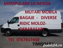 Transport marfa ,Mobila ,Bagaje,Oriunde-Oricand !