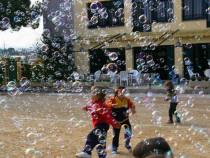 Inchiriez masina de baloane de sapun