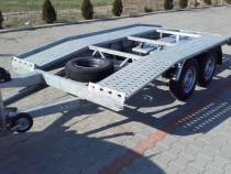 Inchiriez remorca /  platforma auto 1800 - 2700 kg.
