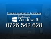 Instalare orice windows si linux ieftin in Timisoara