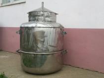 Cazan de tuica din inox 130 litri.