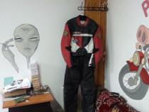 Costum moto FLM 52, din doua bucati