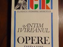 Opere. Didahii - Antim Ivireanul (Minerva, 1997)