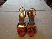 Sandale pentru ocazii deosebite de culoare roz