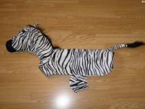 Costum carnaval serbare zebra pentru catei