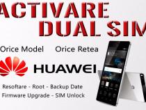 Activare dualsim huawei p10lite p10 p9ite p9 - single sim