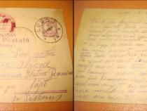 Carte Postala Militara. Expeditie. Reg.13 Calarasi. Romania