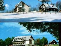 Trei Brazi, set 2 ilustrate : vara si iarna