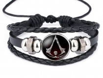 Bratara Bratari Assassin's Creed unisex Piele fashion ieftin