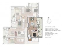 Apartament 2 camere Baneasa, Sisesti Northside Park, 87mp