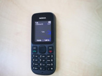 Nokia 100 - telefon simplu cu butoane - tine incarcat mult -