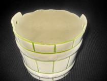 3017-Jardiniera mica SL. Decora ceramica.