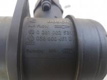Debitmetru aer VW Touran, 1.9 tdi, 2005, cod 0281002531