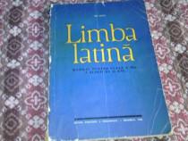 Carte limba latina,cls.ix,1965,bucuresti,editura didact
