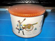 4731-Cutie ciocolata veche Super Chocolat Olanda tematica.