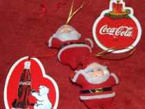 4 jucarii Coca Cola, de Crăciun