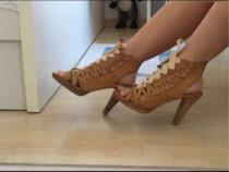 Sandale red hot, model deosebit, 37, foarte sexy