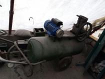 Compresor 350l cu motor nou