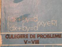 Culegere de probleme V - VIII de Dan Crisan, Octavian Mitrea
