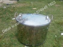 Cazan(Oala,Vas,ceaun) de Inox,De 50 sau 100 de litri.Pt uz a