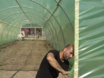 Solar legume si flori 18 m lungime /4 m deschidere