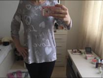 Bluza vascoza pt colanti,c&a,gri,superba,noua cu eticheta,S