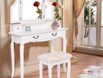 SEA137 - Set Masa alba toaleta cosmetica machiaj oglinda