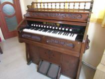 Harmoniu orga pian Brüning & Bongardt, sec XIX, impecabilă